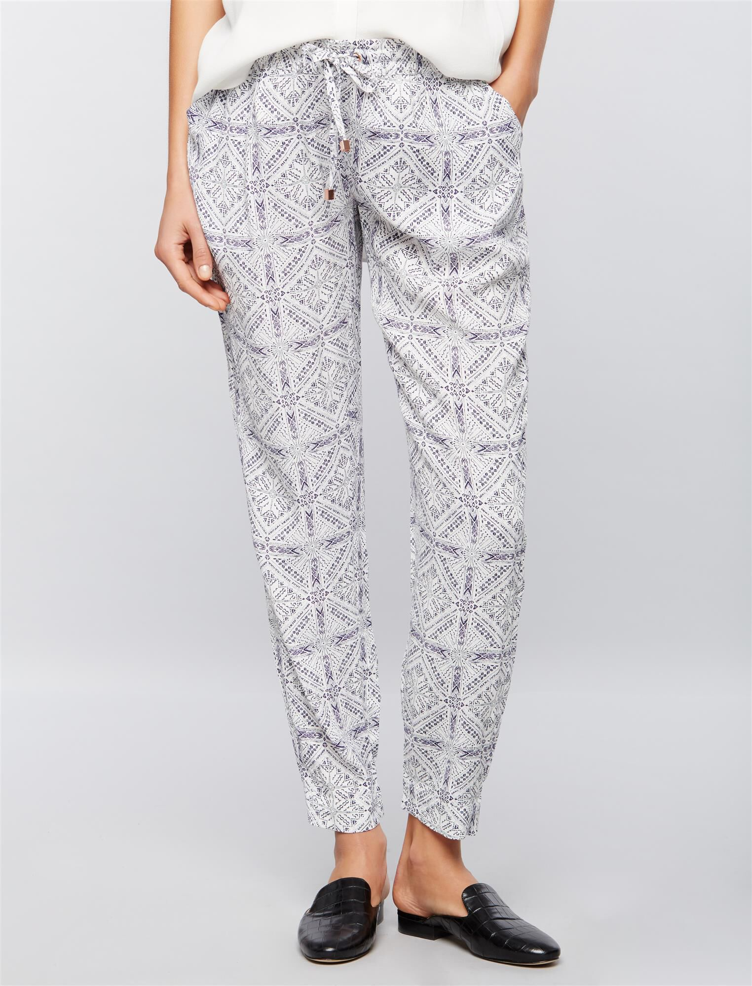 Ripe Under Belly Printed Jogger Maternity Pants
