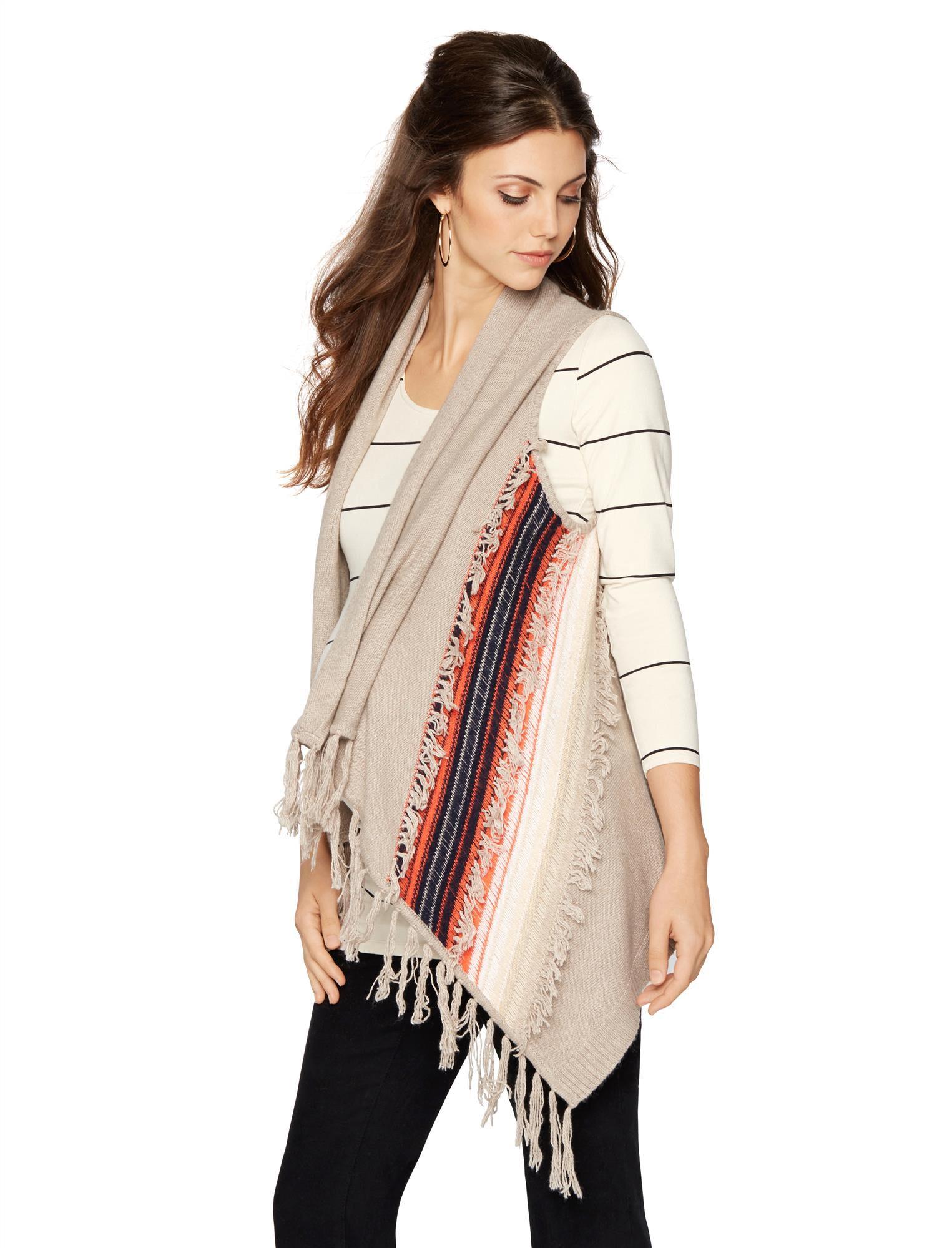 Ella Moss Chevron Stripe Maternity Sweater