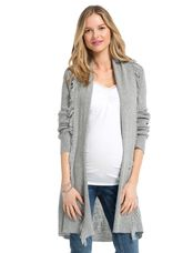 Jessica Simpson Cascade Maternity Cardigan, Natural