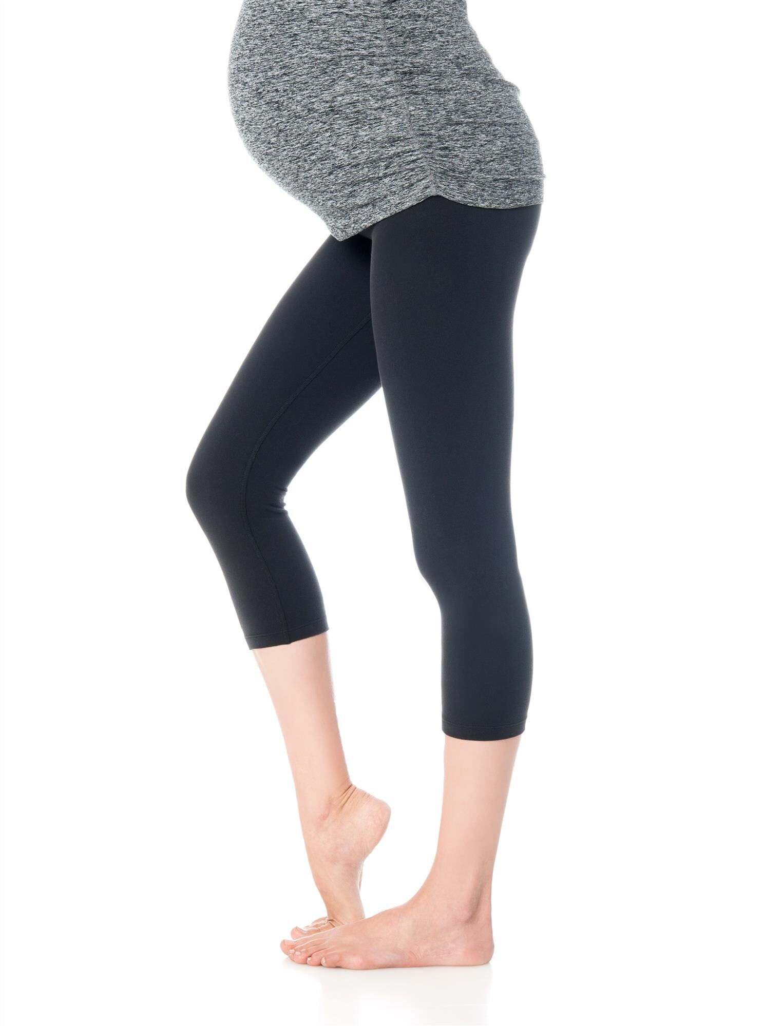 Beyond The Bump What's Kicking Foldover Maternity Leggings