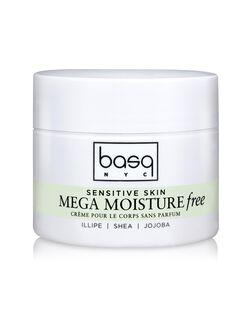 Basq Mega Moisture Illipe Scent Free Cream, Unscented