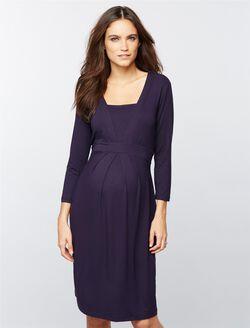 Isabella Oliver Roseberry Maternity Dress, Darkest Navy