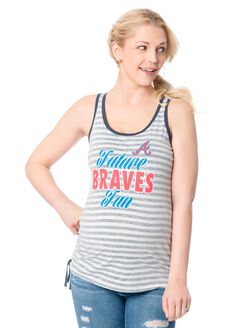 Atlanta Braves MLB Maternity Graphic Tank Top, Braves