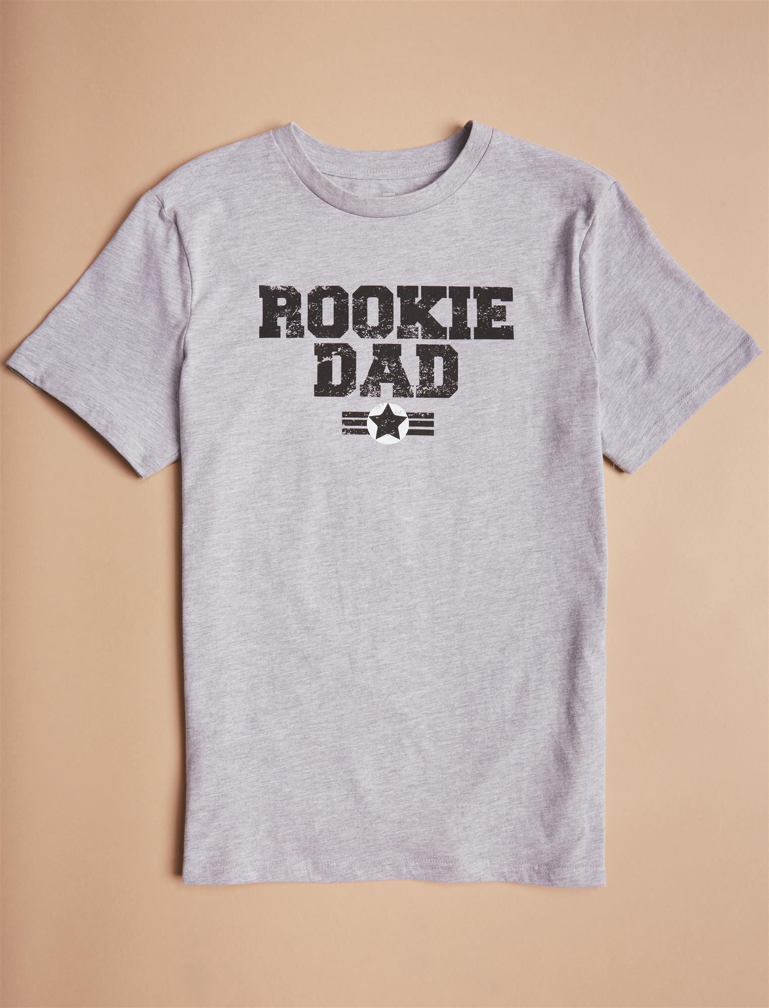 Men's Rookie Dad Graphic Tee