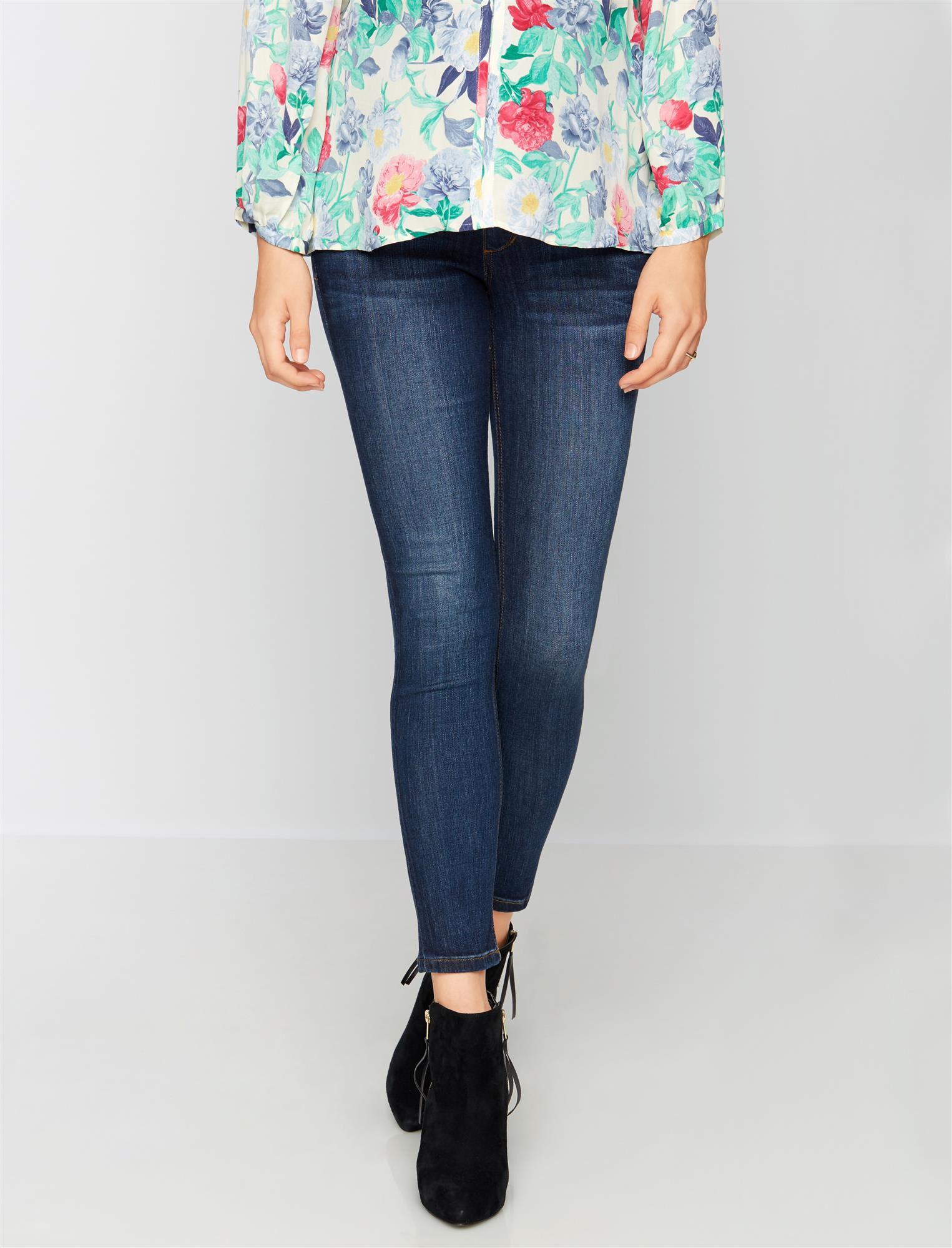 Joe's Jeans Secret Fit Belly The Icon Maternity Jeans- Aimi Dark Wash