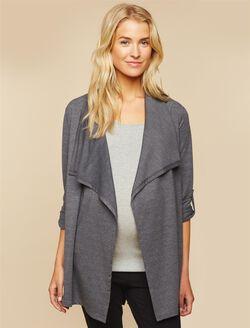 Cascade Maternity Cardigan, Grey
