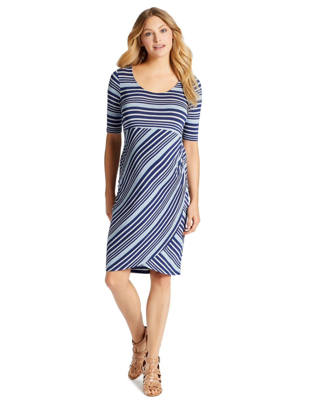 Jessica Simpson Super Soft Maternity Dress at Motherhood Maternity in Victor, NY | Tuggl
