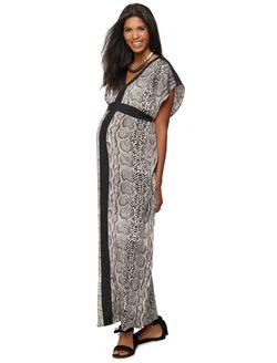 Rachel Zoe Maternity Maxi Dress, Snake Print