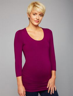 Maternity T Shirt, Purple