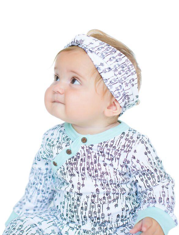 Finn + Emma Organic Baby Headband- Arrow Print, Arrow Print