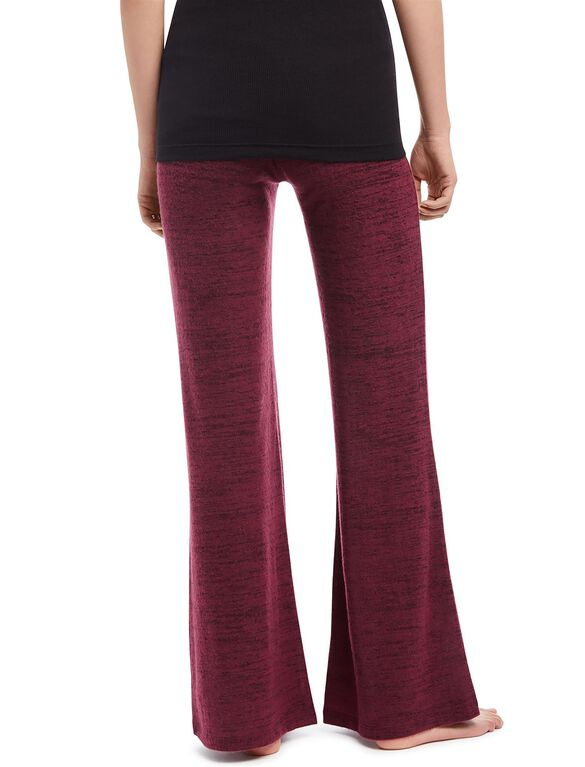 Secret Fit Belly Wide Leg Maternity Pants- Wine, Wine