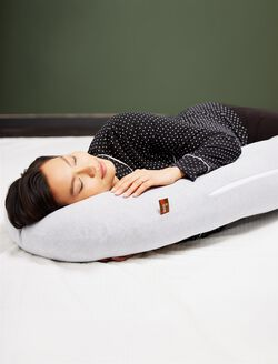 Snoogle Total Body Pillow By Leachco, White