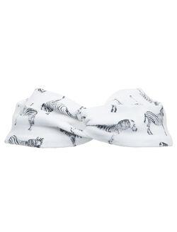 Finn + Emma Organic Baby Headband- Zebra Print, Zebra Print