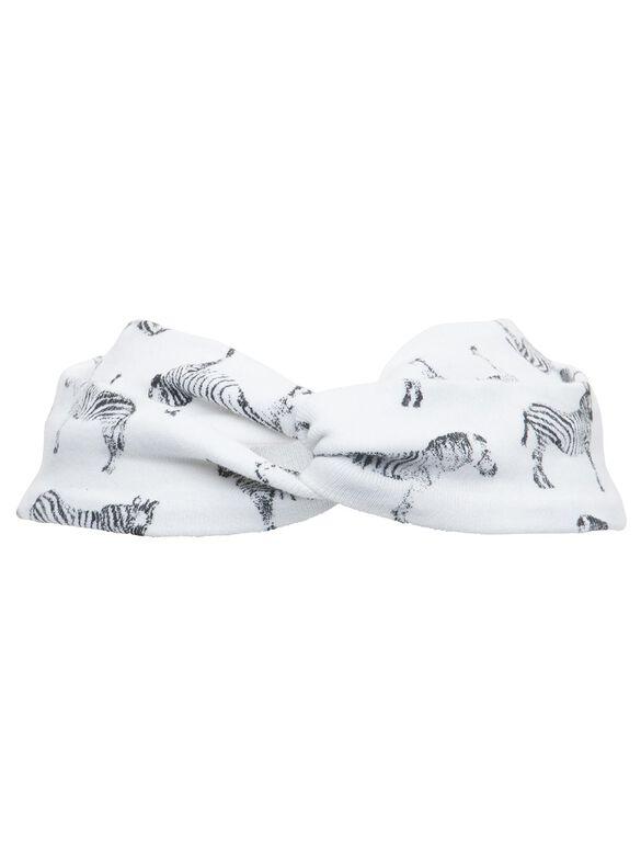 Finn + Emma Baby Headband- Zebra Print, Zebra Print