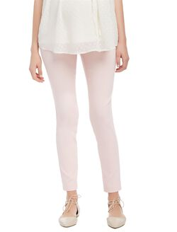 Secret Fit Belly Skinny Ankle Maternity Pants, Potpourri Pink