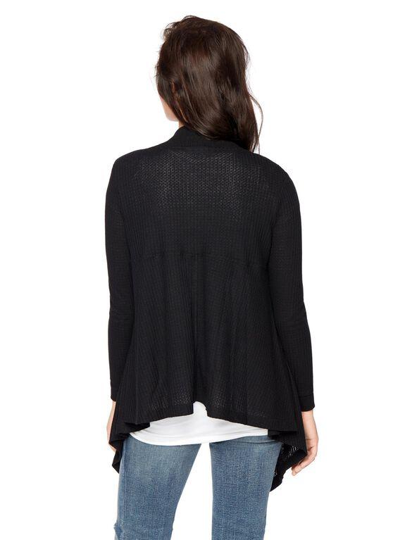 Swing Maternity Sweater, Black