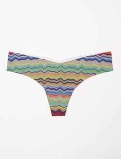 Commando Seamless Thong- Print, Print