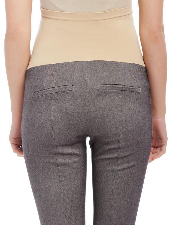 Secret Fit Belly Skinny Ankle Maternity Pants, Grey