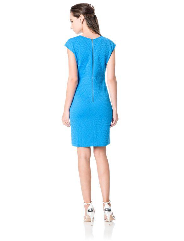 Donna Morgan Embellished Maternity Dress, Blue