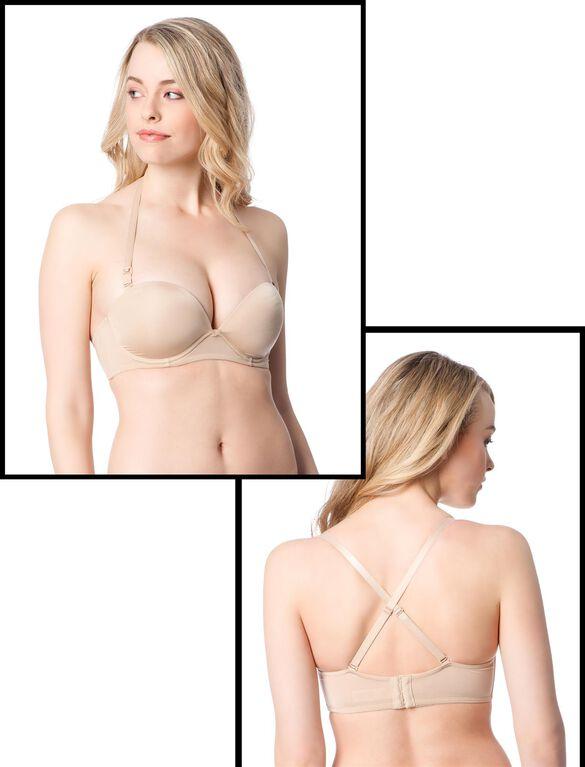 Demi Underwire Nursing Bra, Nude