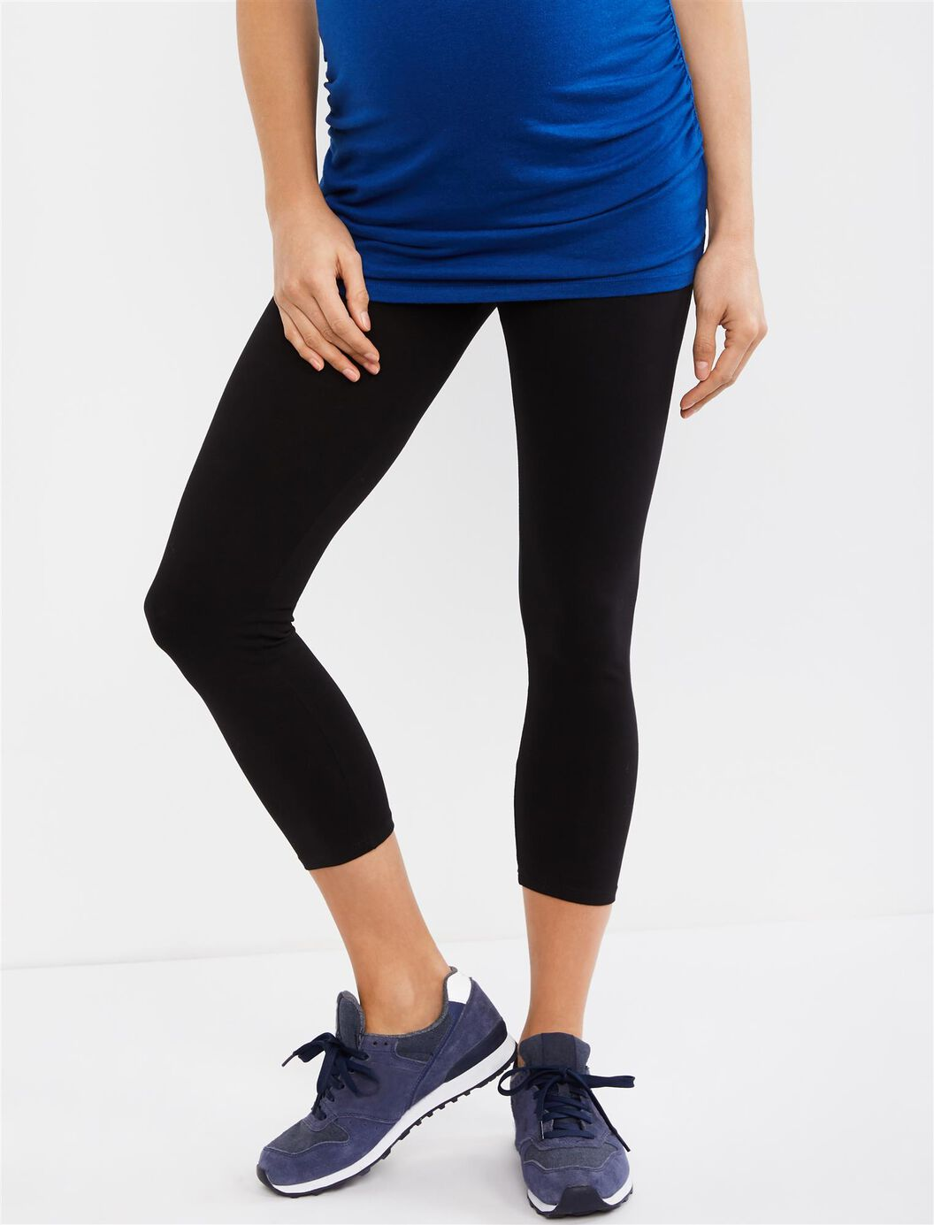 Secret Fit Belly Maternity Crop Leggings at Motherhood Maternity in Victor, NY | Tuggl