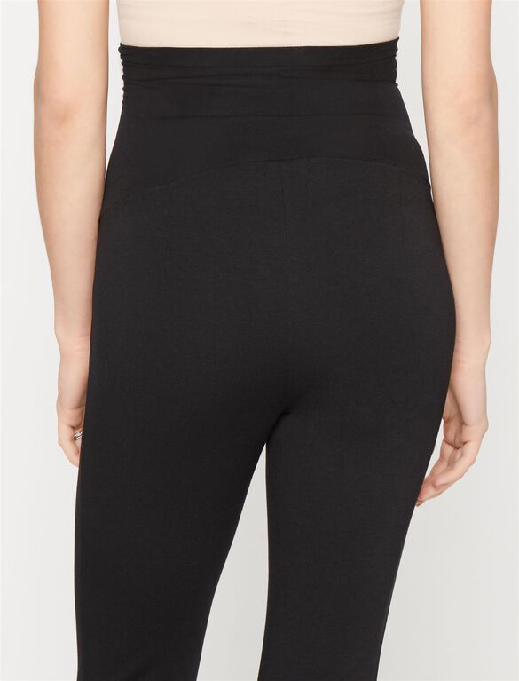 Rachel Zoe Secret Fit Belly Ponte Maternity Ankle Pants, Black