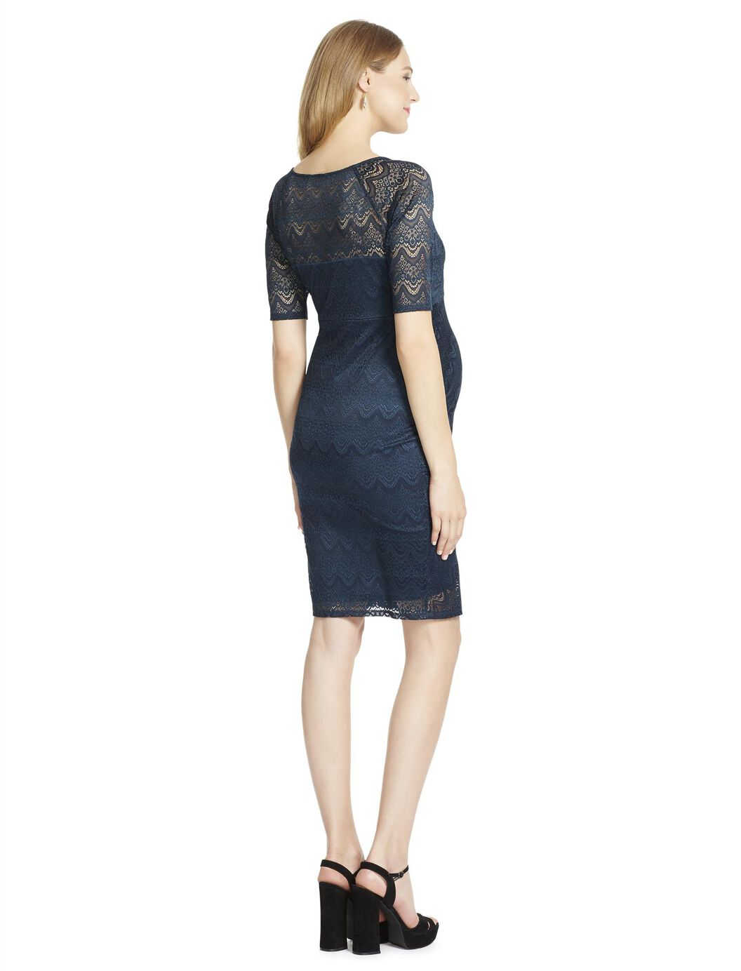 Jessica simpson lace maternity dress destination maternity jessica simpson lace maternity dress evergreen ombrellifo Image collections