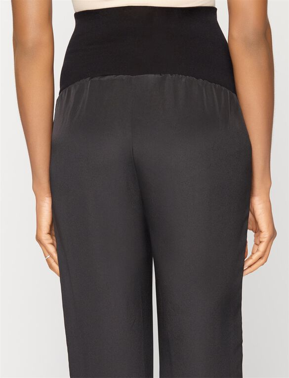 Sjobeck Secret Fit Belly Rayon Maternity Jogger Pant, Black
