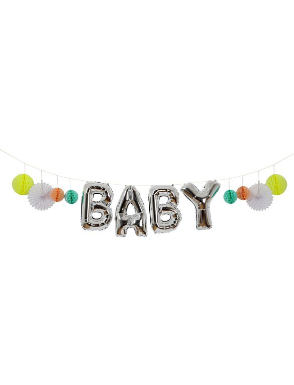 Meri Meri Baby Balloon Garland Kit, Multi Color