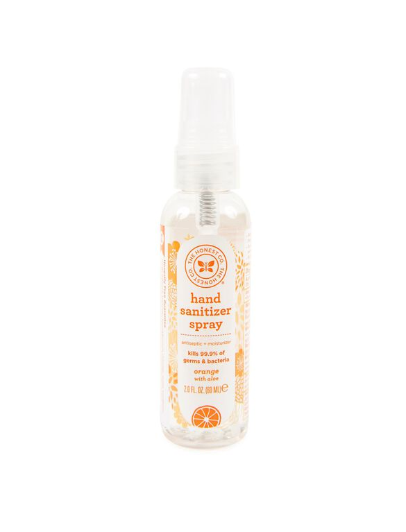 The Honest Company Sanitizer Spray- Orange, Sanitizer Spray