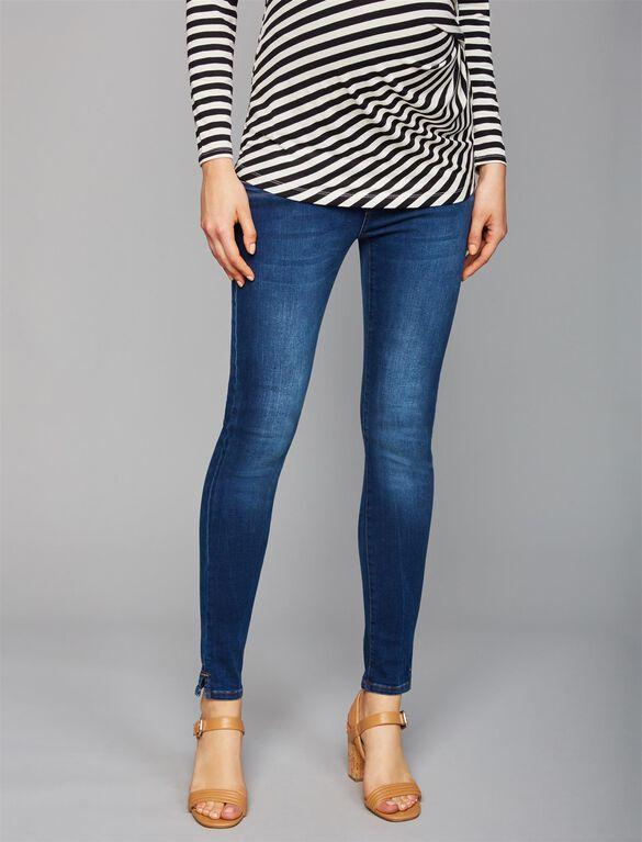 Pietro Brunelli Under Belly Jegging Maternity Jeans, Dark Wash