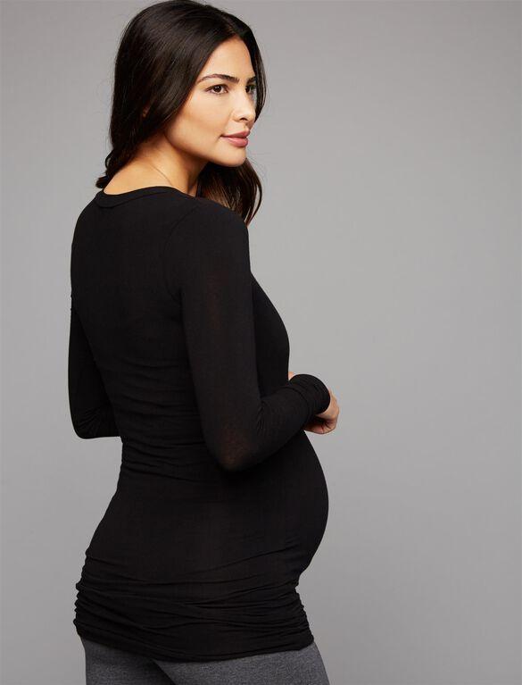 Splendid Maternity Tee, Black