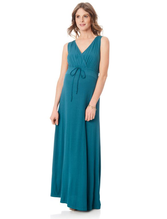 Splendid Maternity Maxi Dress, Marlin