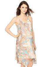 Ella Moss Bias Cut Maternity Dress, Multi Print