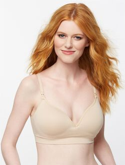 Seamless Clip Down Nursing Bra, Essential Nude