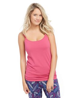 Clip Down Nursing Cami- Bright Pink, Bright Pink