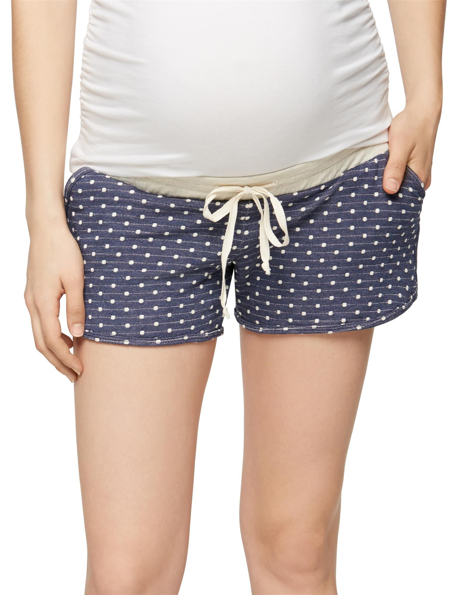 Pull On Style Maternity Shorts