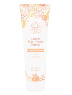 The Honest Company Face and Body Lotion- Apricot, Apricot
