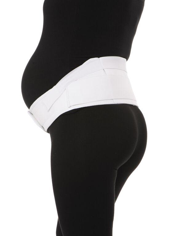 The Ultimate Maternity Belt, White