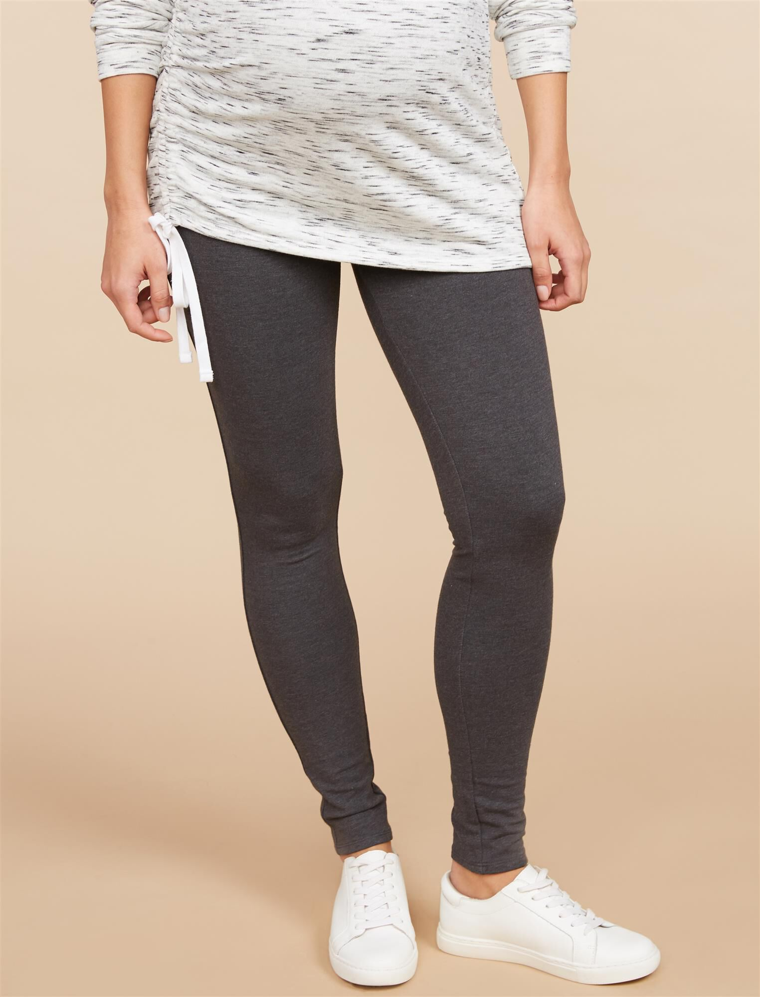 Secret Fit Belly French Terry Maternity Leggings
