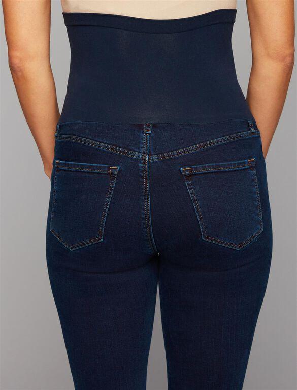 Jbrand Secret Fit Belly Skinny Leg Maternity Jeans, Dark Wash