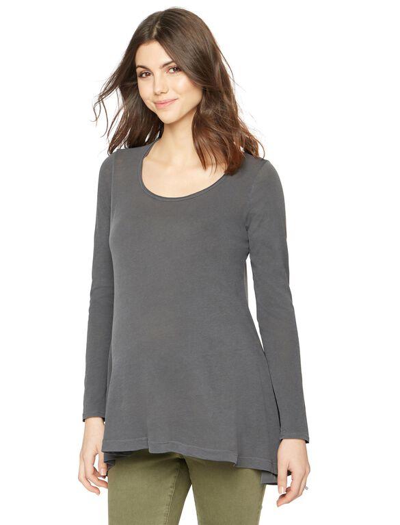 Splendid Maternity T Shirt, Grey