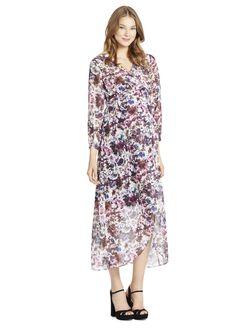 Jessica Simpson Faux Wrap Maternity Dress, Floral Print