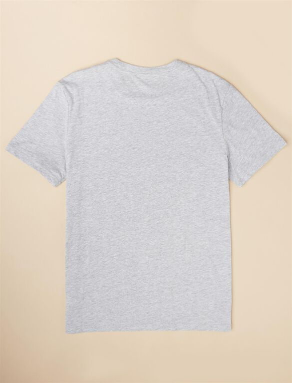 Screen Print Short Sleeve, Gray