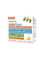 Upspring Milkflow Fenugreek Blessed Thistle Drink Mix, Citrus