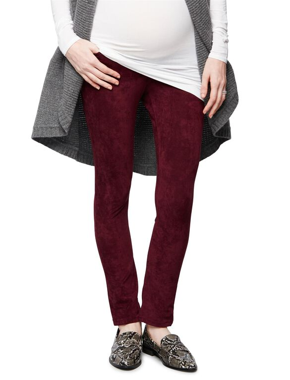 Joe's Jeans Secret Fit Belly Skinny Leg Maternity Jeans, Burgundy