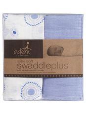 Aden By Aden + Anais Silky Soft Swaddle 2pk, Beau Print