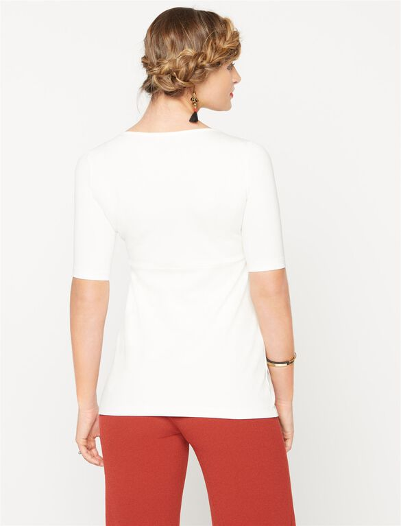 Isabella Oliver Marianne Maternity Top, White