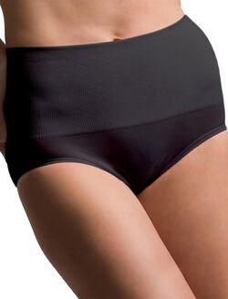 Scott Specialties Rib Knit Post Pregnancy Shaper (single), Black