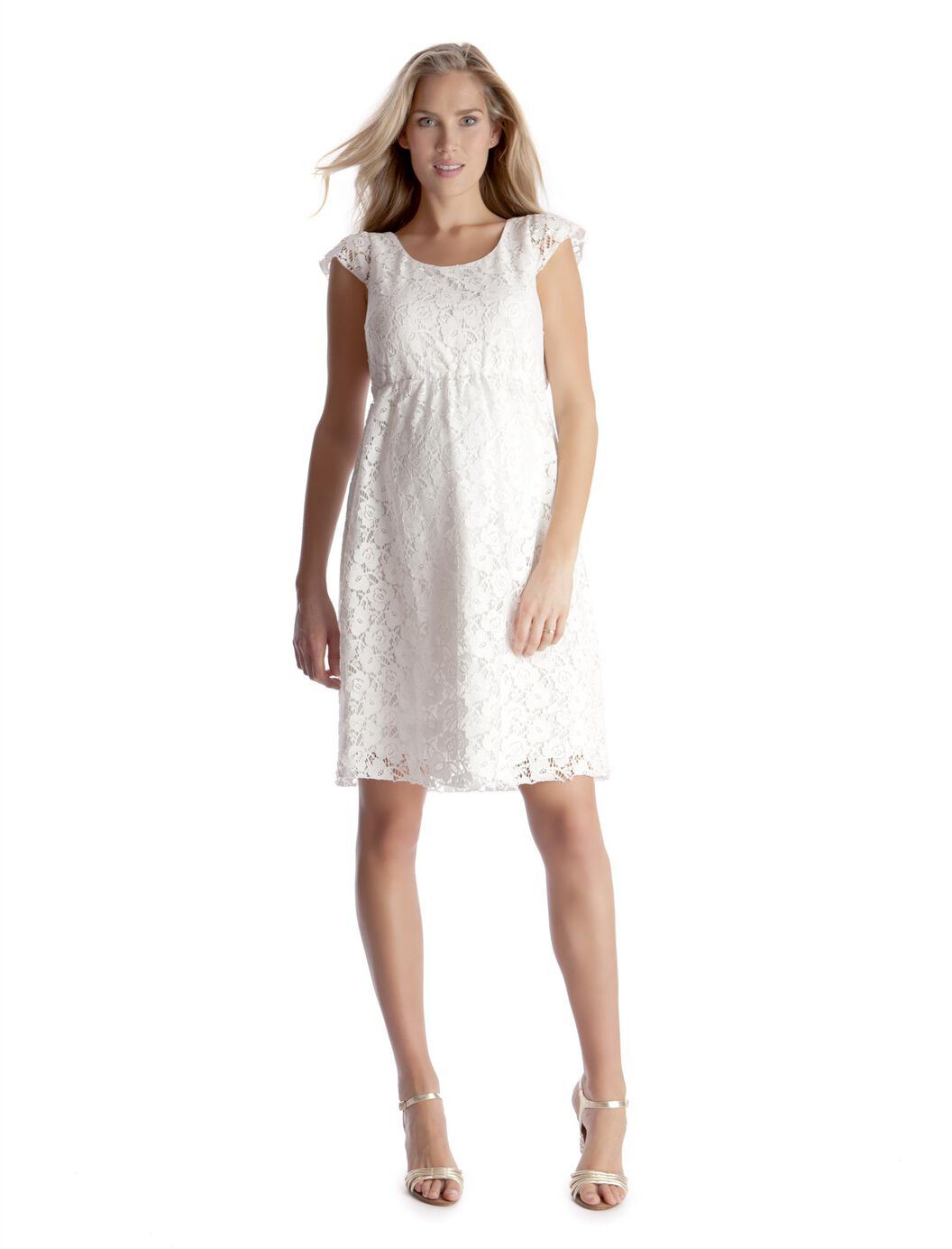 Seraphine lace maternity dress a pea in the pod maternity seraphine lace maternity dress white ombrellifo Choice Image